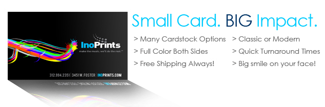 Business Cards Business Card Printing in Chicago