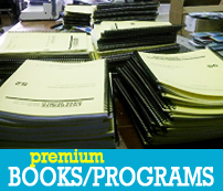 Program Magazine Book Printing